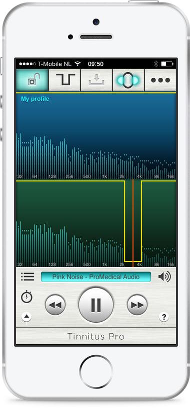 Tinnitus Pro – Playback with filter