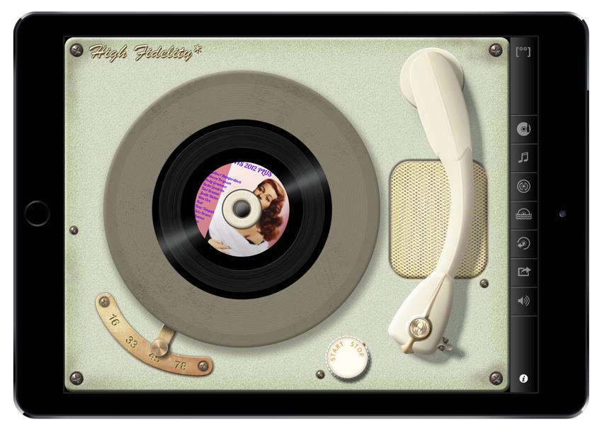 Vinyl - 50's player